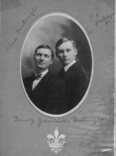Alva Edwin and Leroy Alexander Boatwright