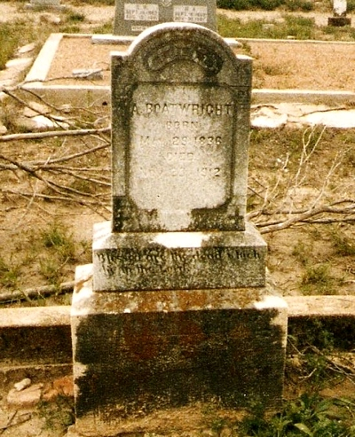 Abyhugh Boatwright Gravestone