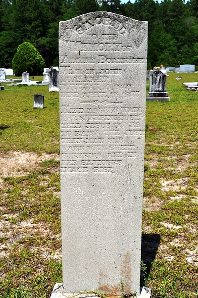 Adeline Melvina Pierce Boatright Gravestone: