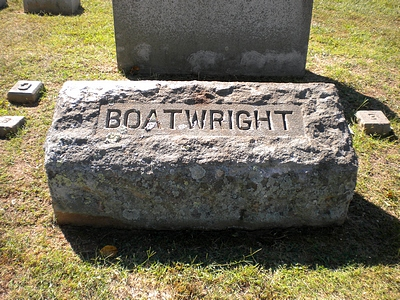 Albert Sidney Boatwright Gravestone