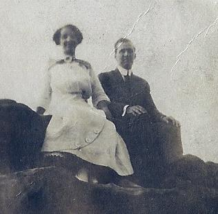 Alva Edwin Boatwright and Alma Eliza Ivy - 1912