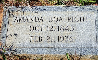 Amanda Boatright Gravestone