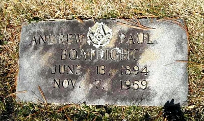 Andrew Paul Boatright Marker