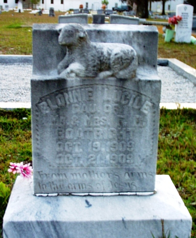Blonnie Lucille Boatright Gravestone: