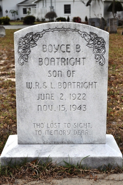 Boyce Bailey Boatright Gravestone