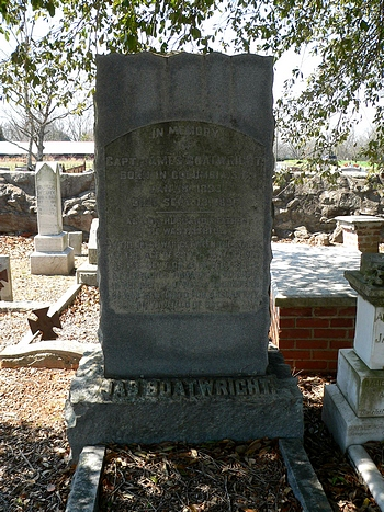 James Boatwright Gravestone