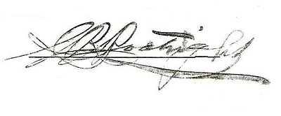 Charles Robertson Boatright Signature: