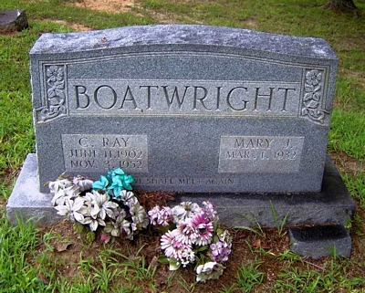 Charles Ray Boatwright Gravestone