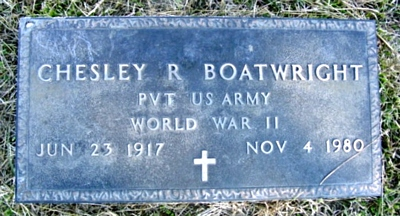 Chesley Riley Boatwright Marker