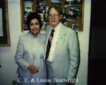 Clifford Eugene and Louise Shaw Boatright