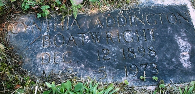 Cynthia Ellen Elizabeth Addington Boatright Gravestone