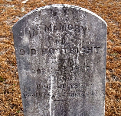 Daniel D. Boatright Marker