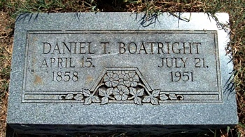 Daniel Thomas Boatright Marker