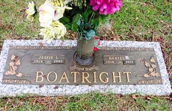 Daniel Thomas Boatright and Jessie Louise Howell Marker
