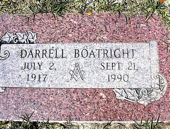 Darrell Boatright Marker