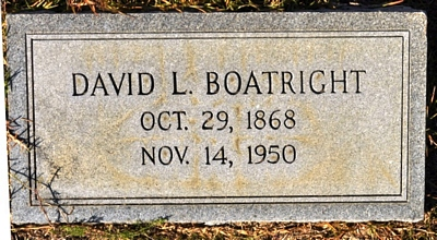 David Louis Boatright Gravestone