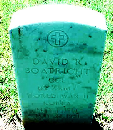 David Russell Boatright Gravestone