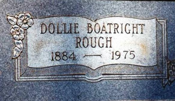Dollie Rietta Boatright Rough Marker