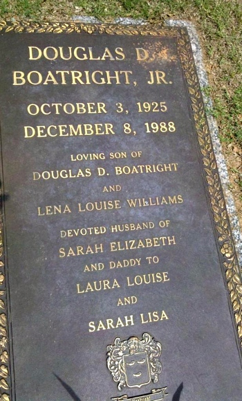 Darrell D. Boatright Gravestone