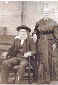 Elizabeth Jane Boatright and Melvin Simeon Hesterly