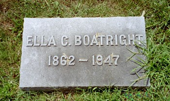 Ella Clark Boatright Marker