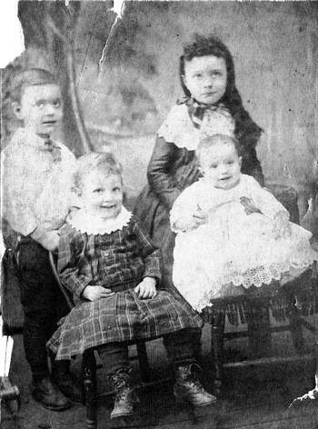 Left to Right - Charles, William, Ethel and Letha