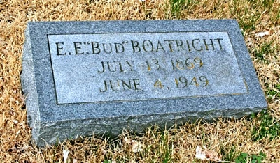 Eric Esron Boatright Gravestone
