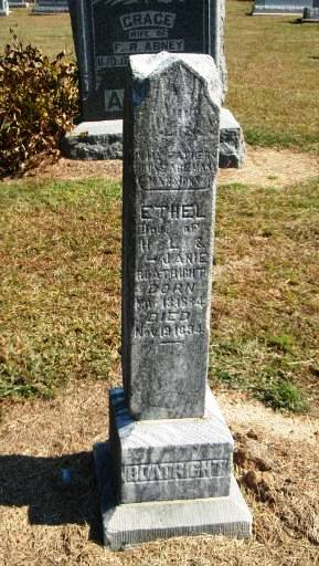 Ethel Boatright Gravestone: