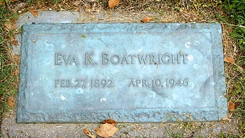 Eva K. Boatwright Marker