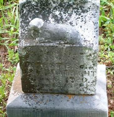 Forest Bryan Boatright Gravestone
