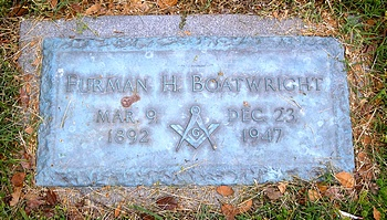 Furman Hezekiah Boatwright Marker