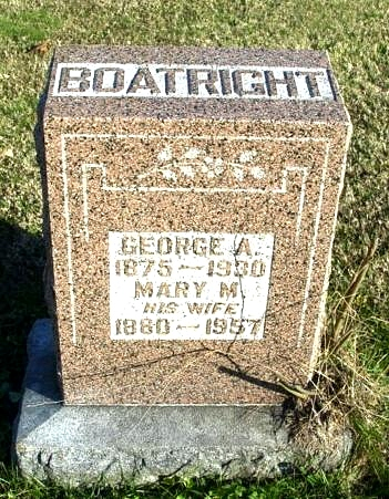 George Anderson Boatright Gravestone