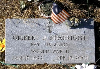 Gilbert Jeremiah Boatright Marker
