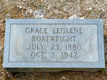 Grace Leolene Boatwright Marker