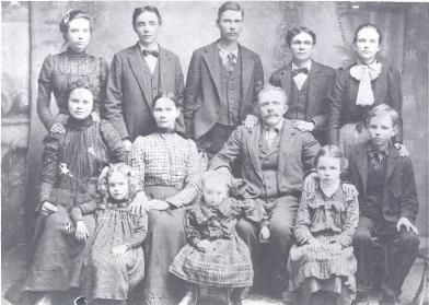 Granville Jasper Boatwright Family