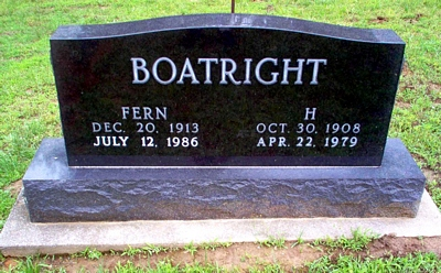 Herman Davis Boatright Gravestone