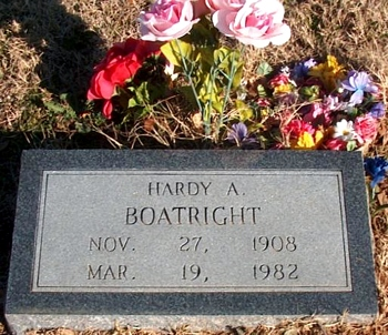 Hardy Anson Boatright Marker: