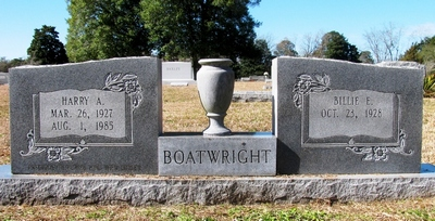Harry Austin Boatwright Gravestone