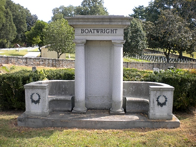 Herbert Lee Boatwright Gravestone