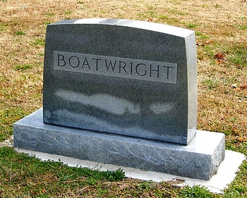 Howard Leake Boatwright Gravestone