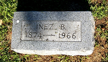 Inez Boatright Finley Marker