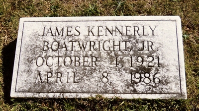 James Kennerly Boatwright Jr. Gravestone