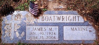 James M. Boatwright Gravestone