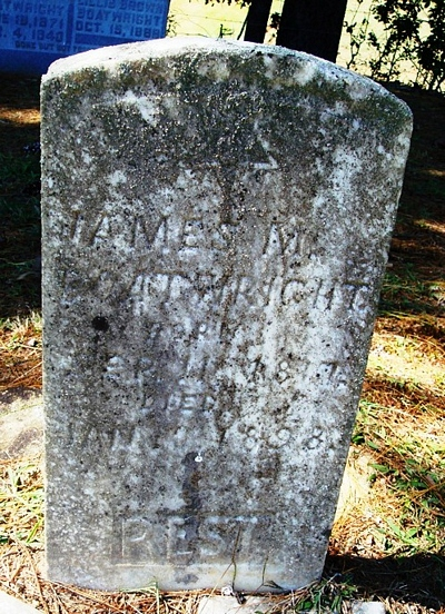 James Madison Boatwright Gravestone
