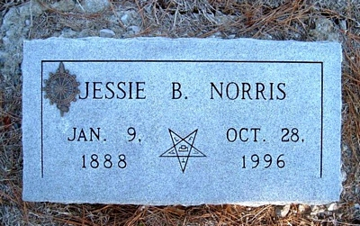 Jessie Boatright Norris Marker