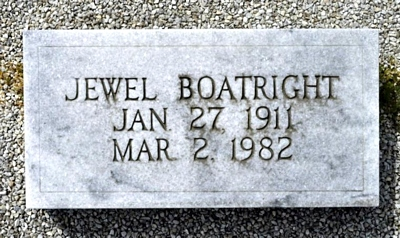 Jewel Boatright Marker