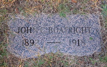 John C. Boatright Marker