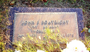 John Sherman Boatright Marker