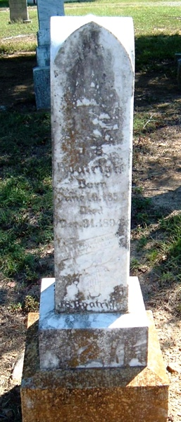 John Samuel Boatright Gravestone