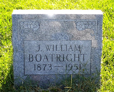 John William Boatright Gravestone